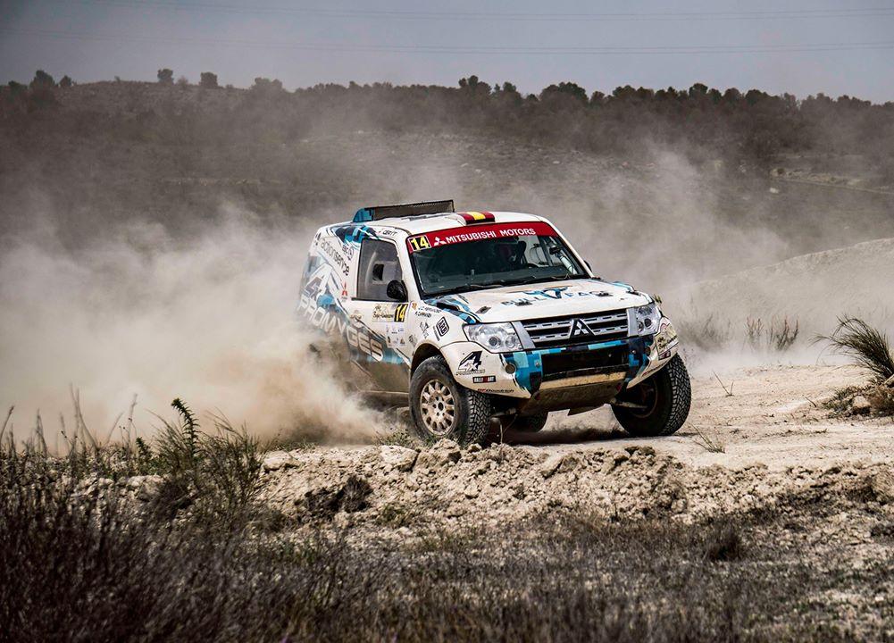 Carranza inicia la defensa del título de campeón de rallys T1-N