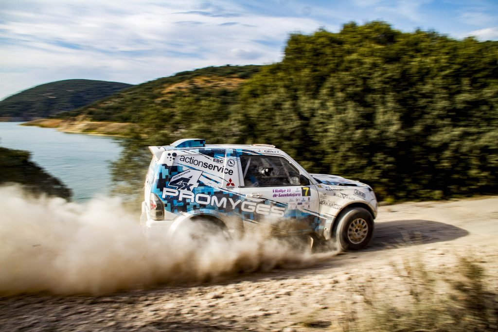 El Promyges Rally Team afronta la recta final del Campeonato con esperanzas
