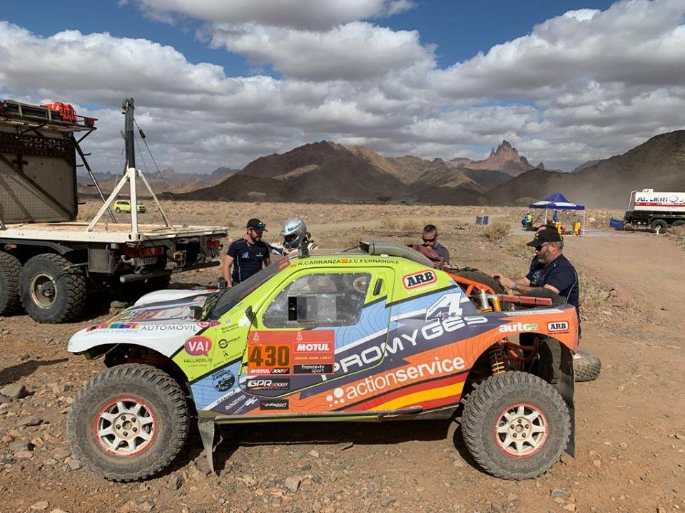 Roberto Carranza ya se encuentra en Valladolid después de participar en su Dakar más peleado