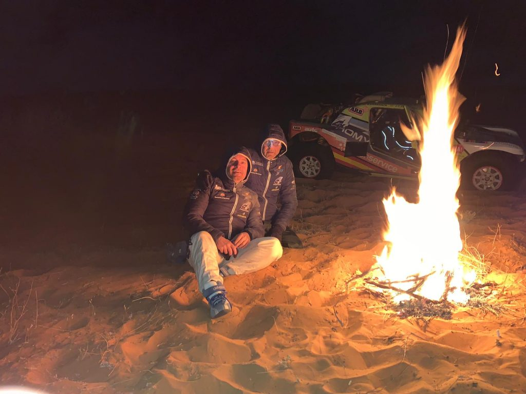 El Promyges Rally Team dice adiós al Dakar bajo las estrellas saudíes.